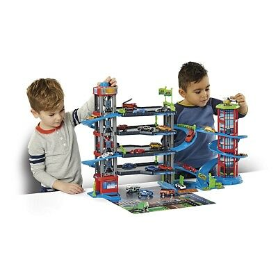 Fast Lane - Multi Level Parkhaus Spielset