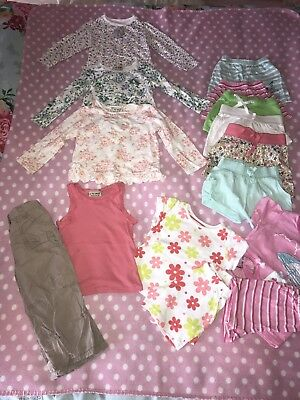 Girls Clothes Bundle Age 1.5-2 Years