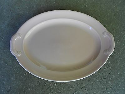 Vintage TS & T Pink Tab Platter  LuRay Pastels  USA 10511