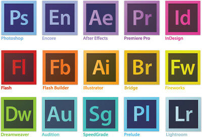 Adobe CS6 Master Collection CC / Photoshop, Premiere, After Effects &MORE!