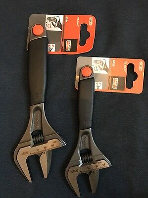 Bahco 9029+9031 Adjustable Spanners 8inch plus 6inch.