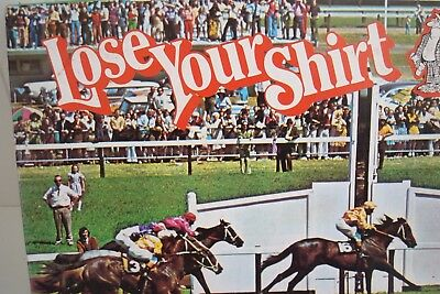 Lose Your Shirt 1976 Vintage Horse Racing Game  - Rare - Melbourne Cup
