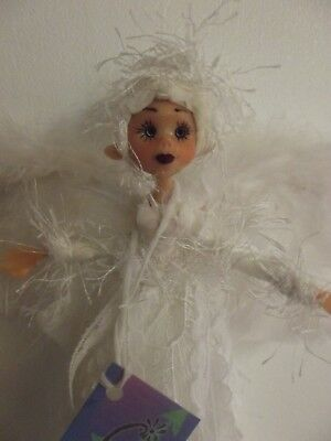 Cute Hand Made Guardian Angel Fairy Godmother Doll Mwt