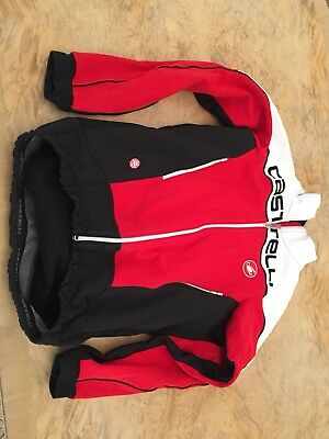 CASTELLI MORTIROLO 3 JACKET RED BLACK, WHITE Size L