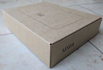 BNIP BRAND NEW Cisco Meraki MX64 never used, not claimed, no licence