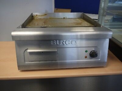 Burco Table Top Electric Griddle Hot Plate CTGD01