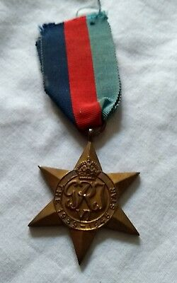 Ww2 Star Medal