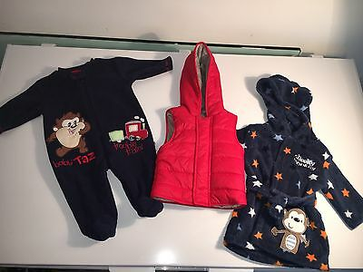 Joblot of baby boys clothes from 0-3 months