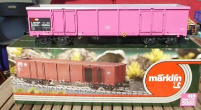 Märklin 5892 1 Gauge Open Goods Wagon 4-achsig Eaos Pink the SBB CFF ep. 4/6 OVP