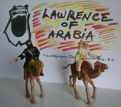 Lawrence of Arabia toy soldier arab bedouins series 60' made by REAMSA in Spain