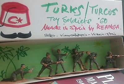 Turk - Turco series  toy soldier made by REAMSA in Spain 60'  Turks - Turcos