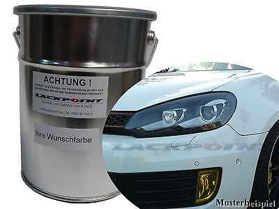 2 Liter Basecoat Spray Finish Car Paint VW Golf 6 A5G Pearl-Blue Tuning