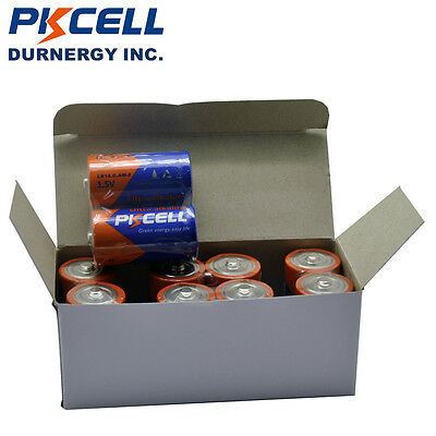10 x C Size 1.5V Alkaline Industrial Battery Batteries ( MN1400, LR14, PC1400 )