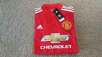 Manchester United Home Jersey Replica Brand New size Large BNWTs