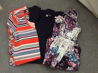 Maternity jersey dress bundle - size 10. Various makes. See separate photos.