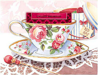 AsSoRTeD ViCToRiaN TeaTiMe LaBeLs SHaBbY WaTerSLiDe DeCALs