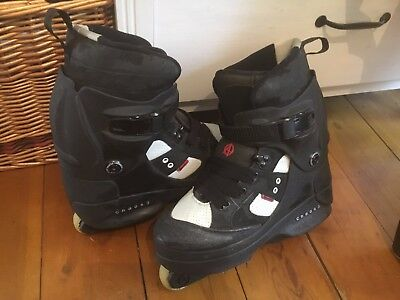 Anarchy Chaos 3 Aggressive Inline Roller Skates Blades UK Size 10