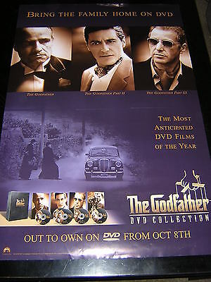 Original Godfather Collection Promotional Poster