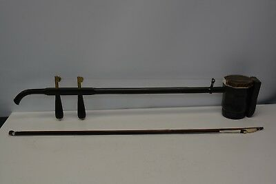 Chinese Erhu Violin with Bow and Case - Traditional Musical Instrument