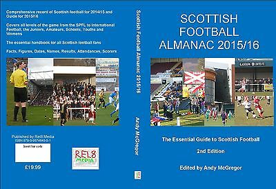 SCOTTISH FOOTBALL ALMANAC 2nd Edition 2015/16, 450 pages!