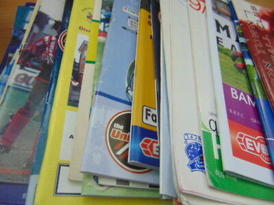 Bundle 34 x Non league Progs, All different North Western Clubs Listed (lot 1)