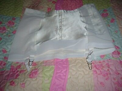 Ladies Vintage Suspender Girdle/Corset side zipped size38 waist