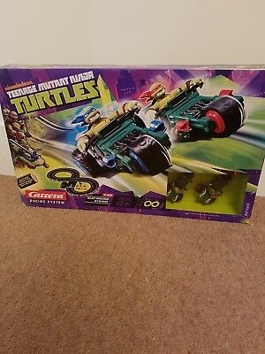 Nickelodeon Teenage Mutant Ninjas Turtle Carrera Racing System scalextric NEW!