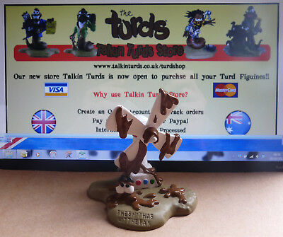 The Turds figurine Collectable  -Sh*t has hit the Fan -  Fun Gift Idea,