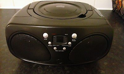 Cd / Radio boom box ( Battery Operated Only)