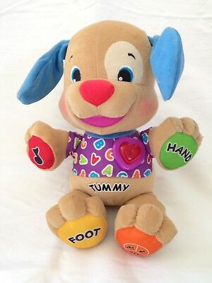 Fisher Price Laugh & Learn Love To Play Musical Puppy Dog