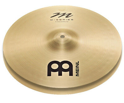 "Meinl Cymbal M-Series Medium HiHats 14"" MS14MH - Made In Germany - New!"