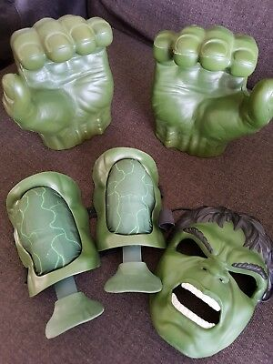 Incredible HULK bundle of fists, muscles and mask.
