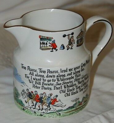 Lord Nelson Pottery Old Tom Cobley Jug