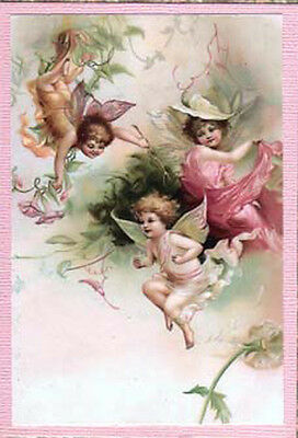 VicToRiaN CheRubs PosTcarDs ShAbBy WaTerSLiDe DeCaLs