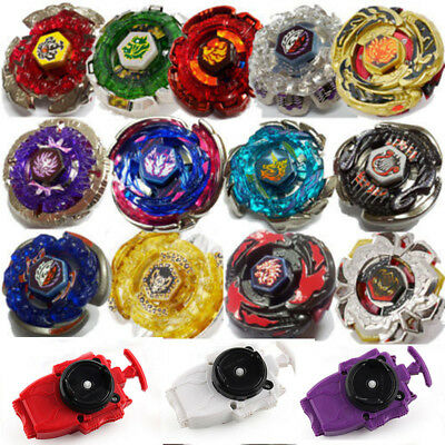 BEYBLADE METAL FUSION MASTERS NEW ZERO-G/4D System+BURST String Launcher New