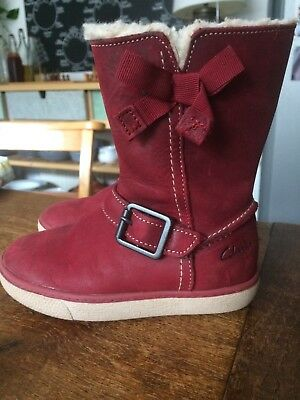 Clarks girls boots size 7G