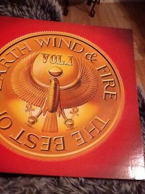 EARTH WIND AND FIRE Best Of Vol 1  LP