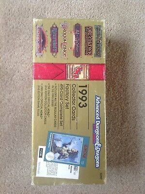 advanced dungeons and dragons collector cards 1993 factory set
