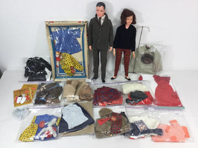 Vintage Remco Littlechap Doll And Outfit Lot