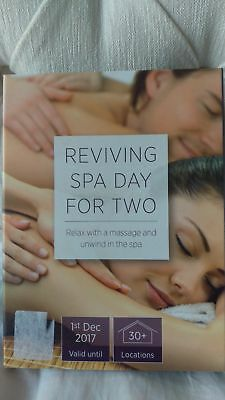 Activity superstore SPA DAY for 2 voucher, 30 locations.