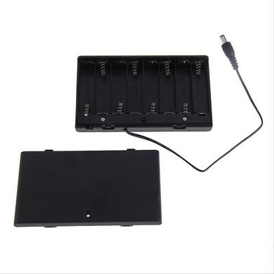 1PC x Battery Box Slot Holder Case for 8 Packs AA 2A Battery Batteries Stack  BD