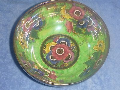 "Maling ""Anemone - Victoria Green"" Lustre Bowl (c1937)"