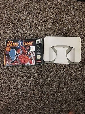 NBA Hangtime N64 (Box & Inlay Only)