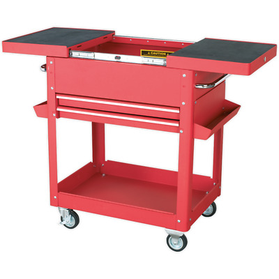 Sealey AP920M Mobile Tool & Parts Trolley Red Red