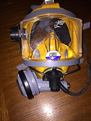 Interspiro AGA Divator MKII Mask w/ OTS Communications