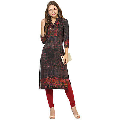 Indian Women Ethnic Style Designer Dress Top Viscose Blend New  Good Quality