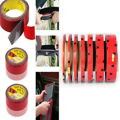6Mm Auto Truck Car Foam Acrylic Plus Double Sided Attachment Tape Useful Tool