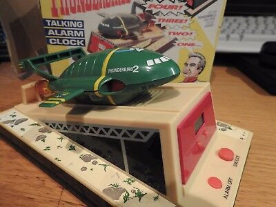 Thunderbirds Wesco Thunderbird 2 talking alarm clock in Original BOX