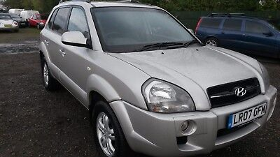 2007 Hyundai Tucson 2.0 Diesel Limited 4Wd 6 Speed Spares Or Repairs Non Runner