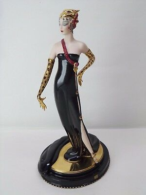 House Of Erte - Untamed Beauty - Limited Edition Figurine - Franklin Mint